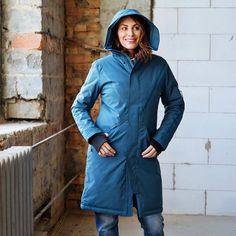 The most beautiful perfect fitting and waterproof unisex Parka from is back in Stock⠀ Get yours! Winter Parka, Winter Jackets, Nylons, Models, Russia, Most Beautiful, Raincoat, That Look, Unisex