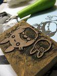 Totoro Stamp 02 by ~beanario on deviantART