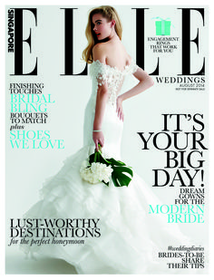 ELLE Singapore Weddings 2014