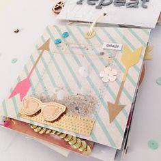 Details Reise Mini mit Crate Paper Journey, Poolside & Craft Market von Ulrike Dold