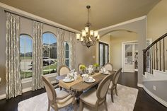 Firethorne Model Home - Design 4931S - Formal Dining Room