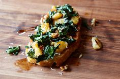 Heidi Swanson's Pan-Fried Giant White Beans with Kale recipe on Food52.com