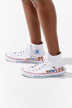 bc1a9dc1a58c Converse X Hello Kitty Chuck Taylor All Star High Top Sneaker