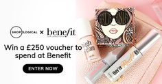 Shopological is giving away a £250 voucher to spend at Benefit. I've entered and you should try your luck too!