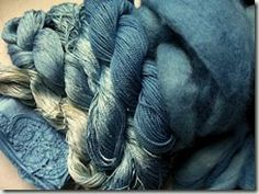 woad blues... gorgeous...