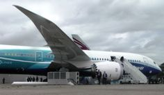 First Boeing 787 Dreamliner