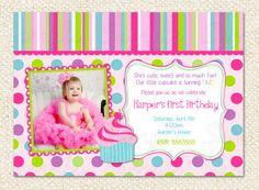 11 Best 1st Birthday Invites Images Birthday Ideas Cupcake First