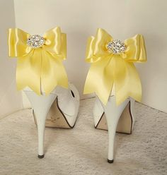 Check out this item in my Etsy shop https://www.etsy.com/listing/535867584/wedding-shoe-clipsbridal-shoe-clips