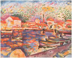 Port de La Ciotat - George Braque