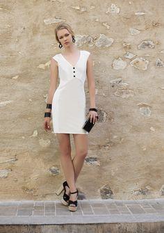 Tubinho clássico verão 2016 Romariabh #tubinho #whitedress #summerdress #romariabh #verão2016