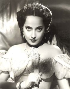 Merle Oberon in Wuthering Heights