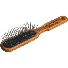 #1 All Systems Oblong Wood Brush-25.4mm Pins - http://www.thepuppy.org/1-all-systems-oblong-wood-brush-25-4mm-pins/