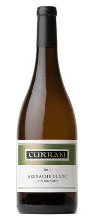 2010 Curran Grenache Blanc, Santa Ynez Valley. Club Price $16.00