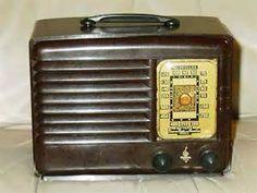 Antique Vintage 1940 Rca Victor 15x Bakelite Tube Radio