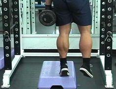 1 leg calf raise