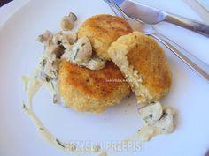 Kotleciki ziemniaczane z białym serem