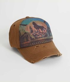 Junk Gypsy Wolf Hat - Cinnamon | Buckle