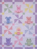 Hankie Blankie Pets Baby Quilt Pattern  BCC-084