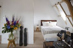 Fashion designer Rebekka Bach s Amsterdam home is full of light and details via fvonf-style, design, unique