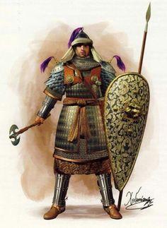 Byzantine heavy cavalryman