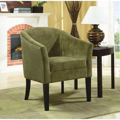 Wildon Home Cohen Accent Chair in Cappuccino