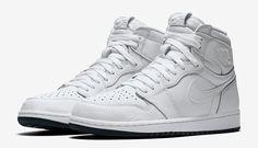 Air Jordan 1 Perforated 555088-100 The White Yin Yang Vibe - Sneaker Finders