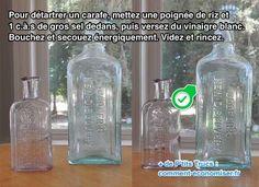 L'Astuce Simple Pour Nettoyer une Carafe Entartrée SANS Effort.