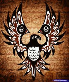 How to Draw a Native American Tattoo, Native American Tattoo, Step ...