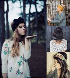 Headband and Hair Extensions for Short Hair Can Make Perfect Autumn Hairstyle