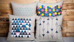La ligne géométrique de la marque À Plate Couture est inspirée de la tendance actuelle en déco alliant un côté scandinave et des couleurs inspirantes. Ajoutez-les à votre déco pour lui donner une allure sophistiquée et hors du commun.