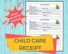 Everything Daycare Childcare forms documents & by DaycareStudio Child Care Services, Starting A Daycare, Word F, Daycare Forms, Young Life, Letter Size Paper, Childcare, Daycares, Preschools