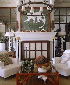 South African design - the monkey could be a giveaway! Decor, Interior Windows, Elle Decor, Family Room, Decor Design, Interior, Masculine Interior, South African Design, Room