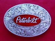 Peterbilt Logo Trucker Belt Buckles