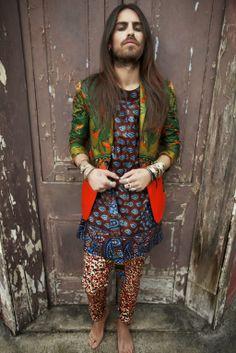 MALE FASHION TRENDS: Dent de Man retoma el look hippie en su colección de primavera