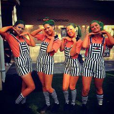 Halloween adult costume idea group