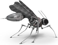 Steampunk insects by Russian artist Turi Savelich - Lost At E Minor: For creative people