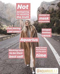 Aquarius Moon Sign, Aquarius Funny, Aquarius Pisces Cusp, Aquarius Traits, Aquarius Love, Aquarius Quotes, Aquarius Woman, Age Of Aquarius, Zodiac Signs Horoscope