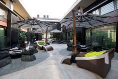 Grand Hotel Boscareto www. L Shape, Grand Hotel, Restaurant, Diner Restaurant, Restaurants, Dining