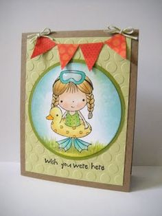So adorable! I love Penny Black stamps