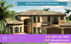 Are you looking to buy a new dwell? Bleu Palms Real Estate provides a trusted real estate services for selling and buying properties to every client. For more estimate, call: (561) 632-8960 visit our site.