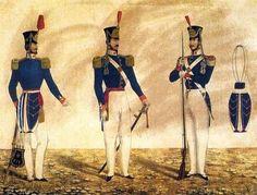 Debret - Batalhão de Fuzileiros da Guarda Nacional (1840–1845) Brasil