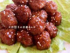 ☆肉団子の甘酢あん☆ 甘酢 豚肉 鶏肉 ひき肉