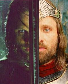 Aragorn is such a fascinating character- I love how he is able to gain his inheritance at the end.