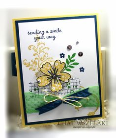 Hello Peeps !!! Happy Monday !!! I am sharing a card that I did for my class using the Love and Affection stamp set. ...