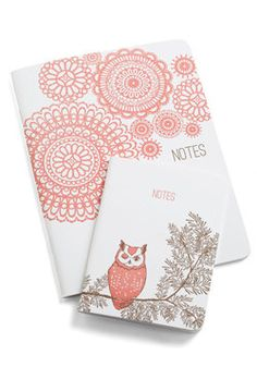 Scenic Stanzas Notebook Set in Countryside, #ModCloth