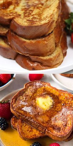 Learn how to make French Toast PERFECTLY, quickly, and easily - gorgeously browned on the outside, soft and fluffy on the inside, and easily customizable! Homemade French Toast, Make French Toast, Cinnamon French Toast, French Toast Batter, Fluffy French Toast, Perfect French Toast, Healthy French Toast, Brioche French Toast, Banana French Toast
