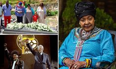 Winnie Mandela says: 'I'll seize control of Nelson's grave'