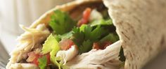 Bean and Salsa Chicken Wrap recipe from Betty Crocker