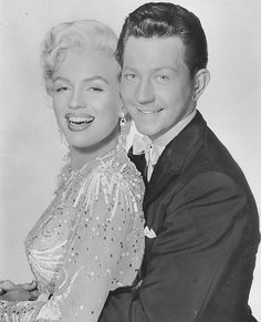 "Marilyn Monroe & Donald O'Connor promotional photo for ""There's No Business Like Show Business"" 1954"
