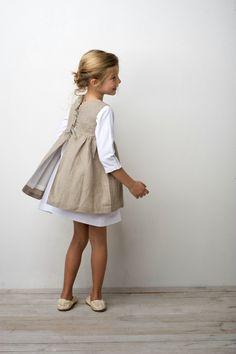 63 ideas for fashion kids style beautiful Fashion Kids, Little Girl Fashion, Little Girl Dresses, Trendy Fashion, Kids Outfits, Cute Outfits, Inspiration Mode, Apron Dress, Smock Dress